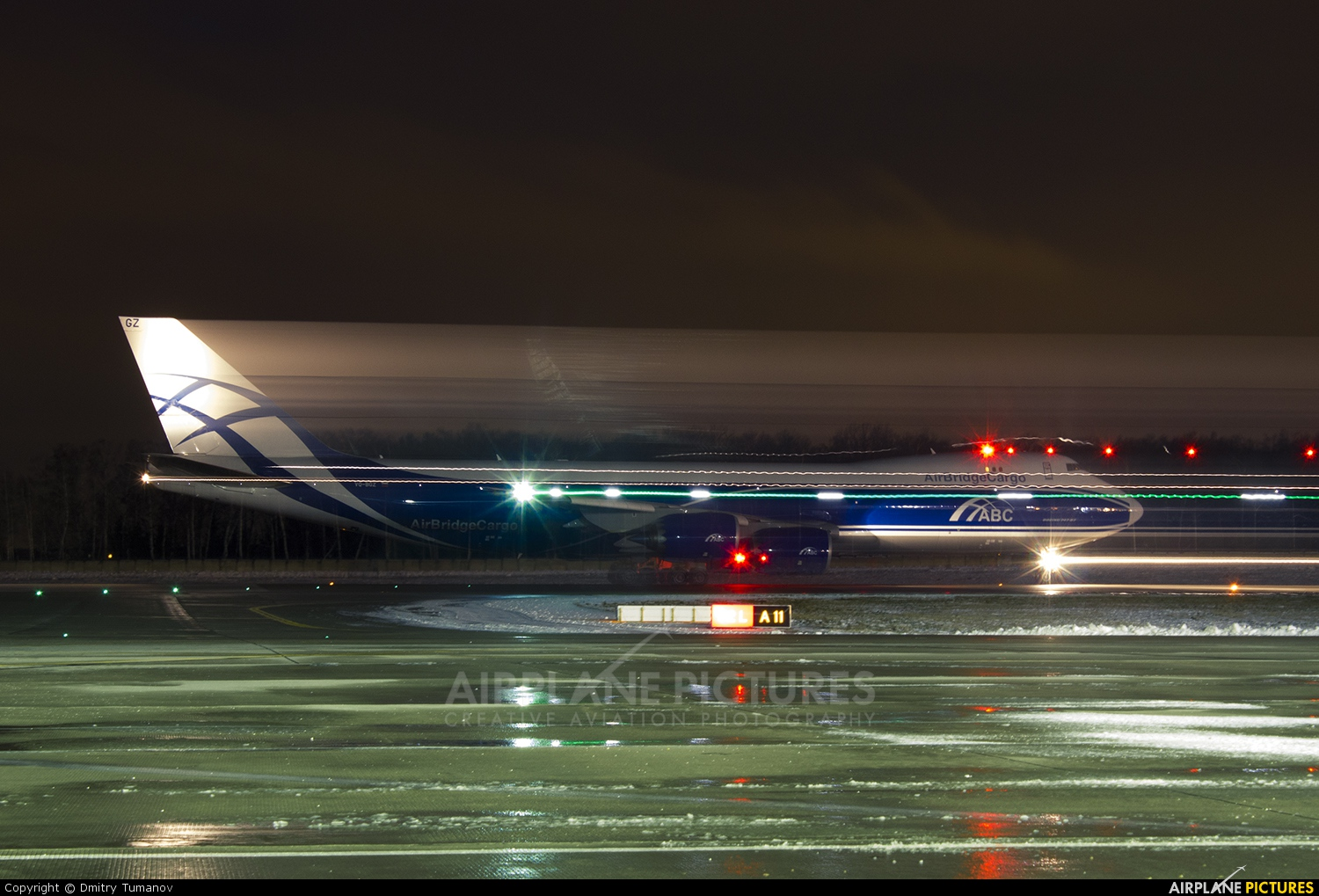 Air Bridge Cargo VQ-BGZ aircraft at Moscow - Domodedovo