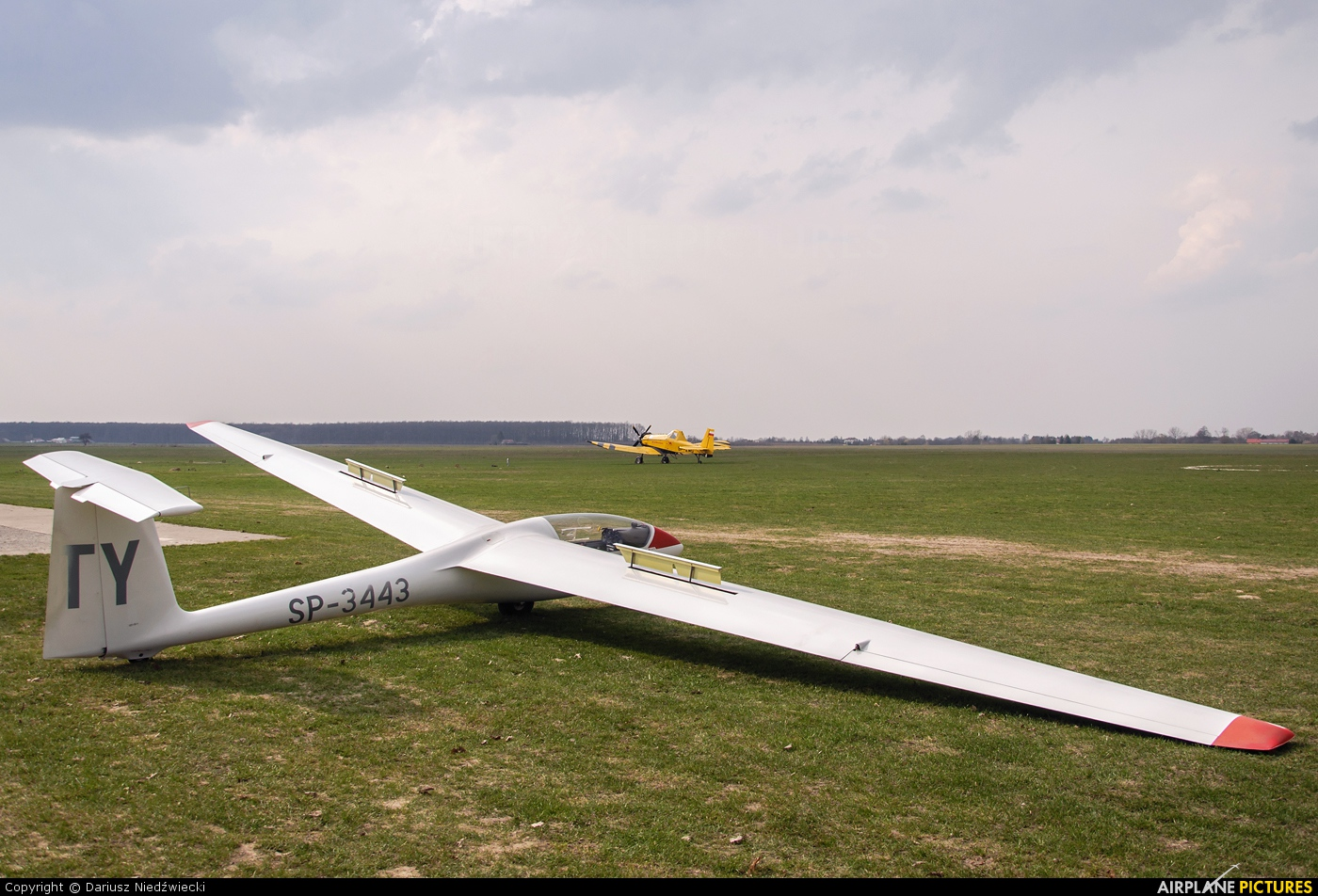 Aeroklub Lubelski SP-3443 aircraft at Lublin Radawiec
