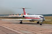 12 - Russia - Air Force Tupolev Tu-134Sh aircraft