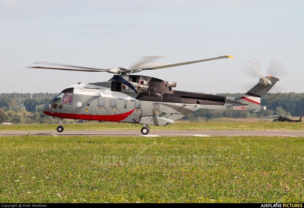 Agusta Westland ZR339 aircraft at Świdnik