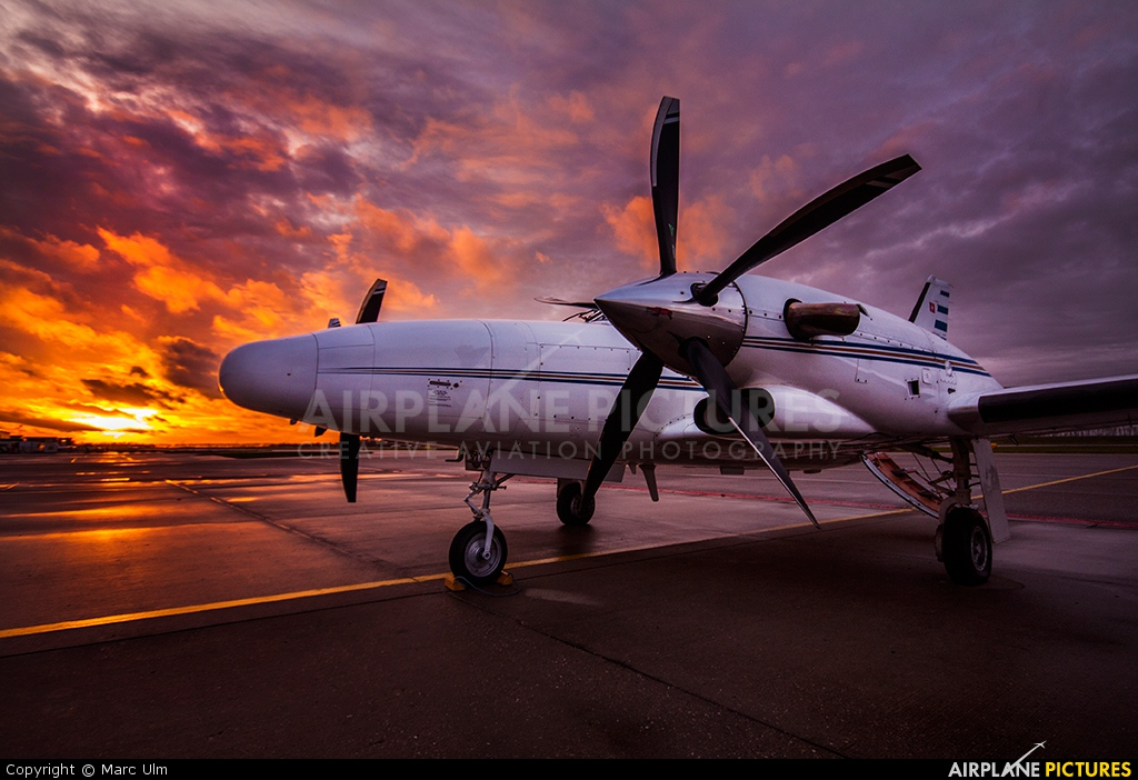 Swiss Private Flights HB-LUQ aircraft at Lelystad