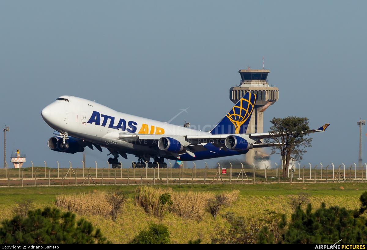 Atlas Air N498MC aircraft at Campinas - Viracopos Intl