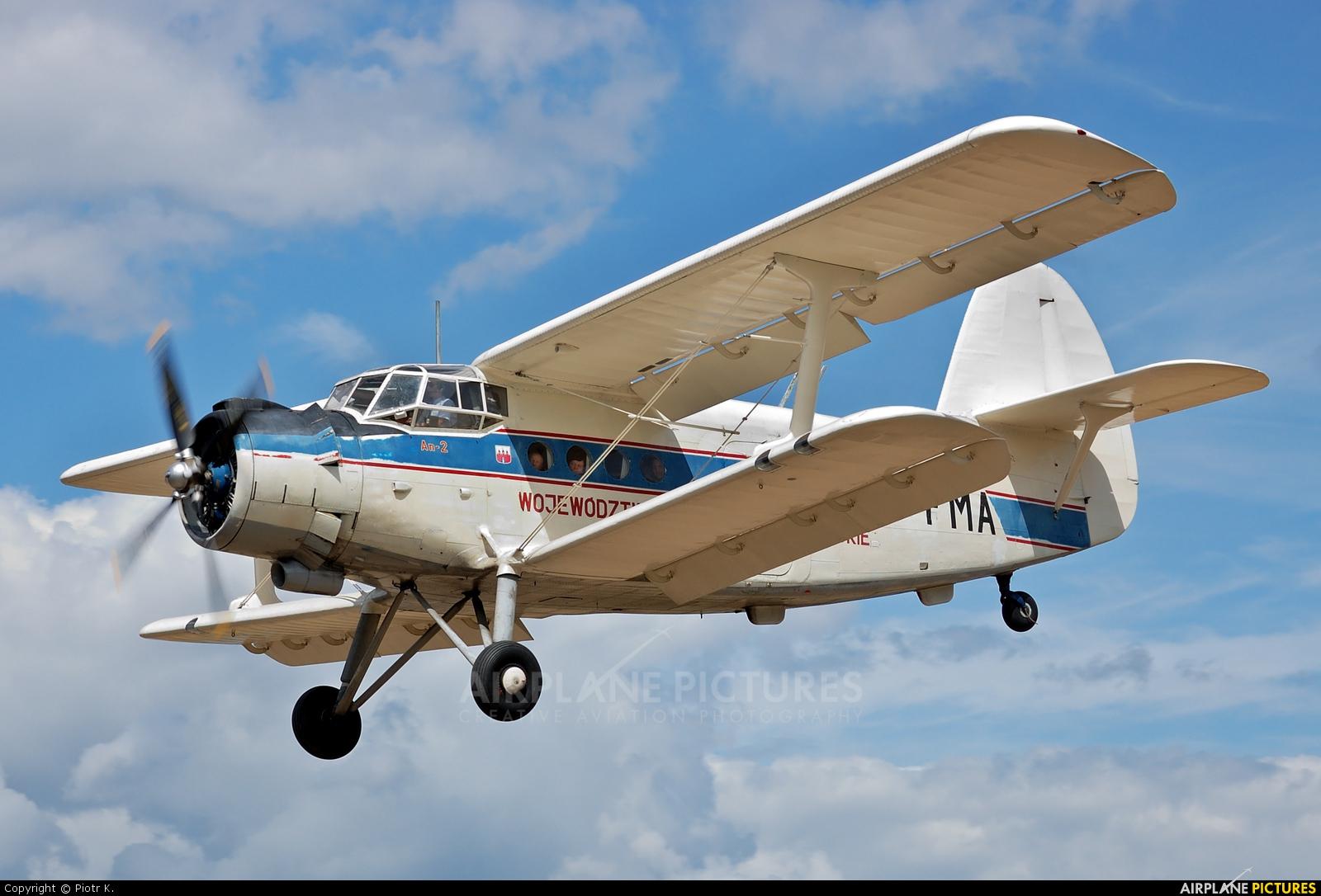 Aeroklub Bydgoski SP-FMA aircraft at Czarże