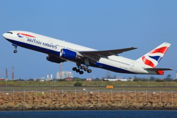 G-YMMJ - British Airways Boeing 777-200