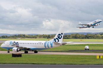G-FBJE - Flybe Embraer ERJ-175 (170-200)