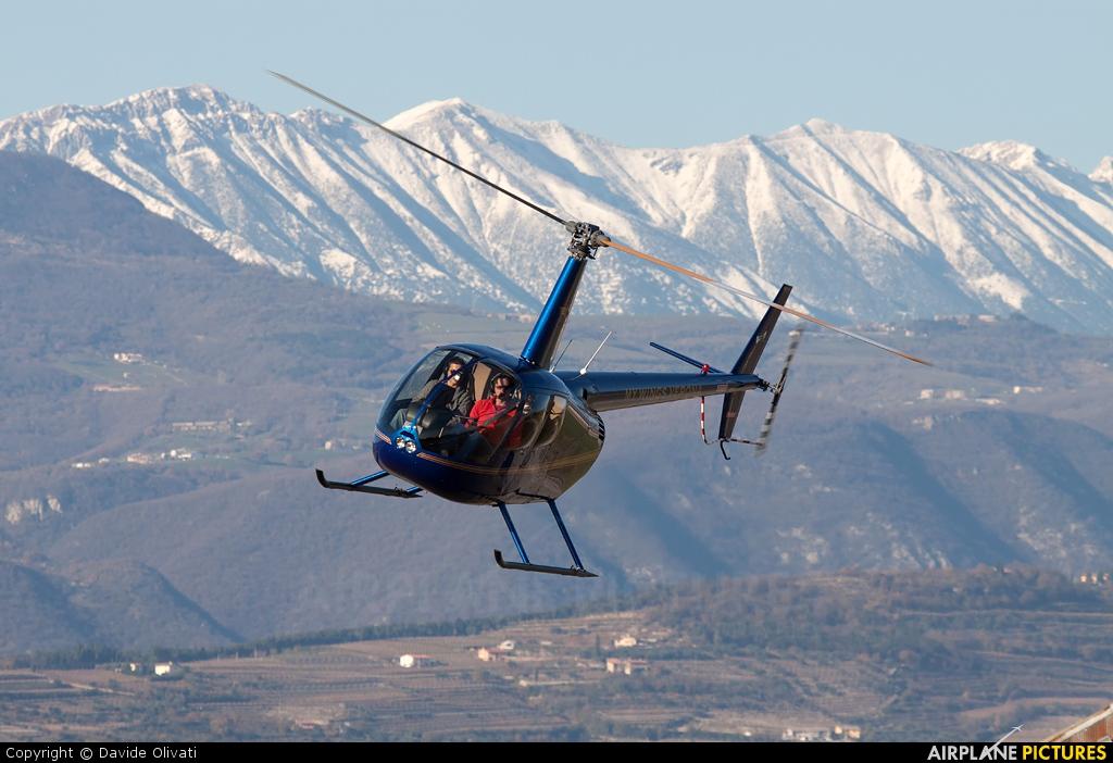 Private I-MWII aircraft at Verona - Boscomantico