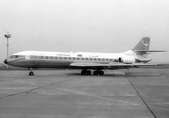 YK-AFB - Syrian Air Sud Aviation SE-210 Caravelle