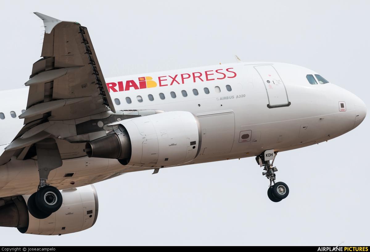 Iberia Express EC-KOH aircraft at Madrid - Barajas