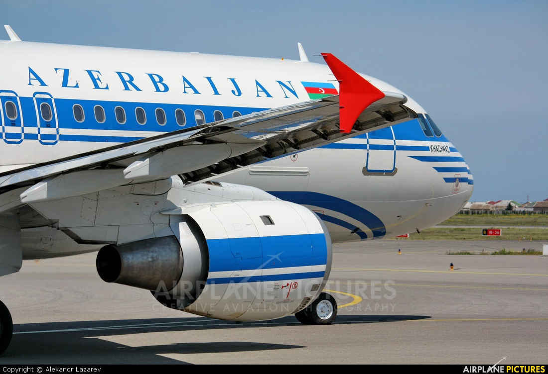 Azerbaijan Airlines 4K-AZ54 aircraft at Baku - Bina / Heydar Aliyev Intl