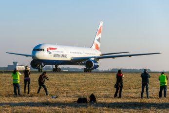 G-BNWT - British Airways Boeing 767-300