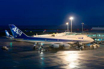 JA8966 - ANA - All Nippon Airways Boeing 747-400