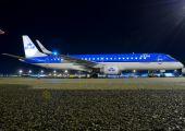 PH-EZY - KLM Cityhopper Embraer ERJ-190 (190-100) aircraft