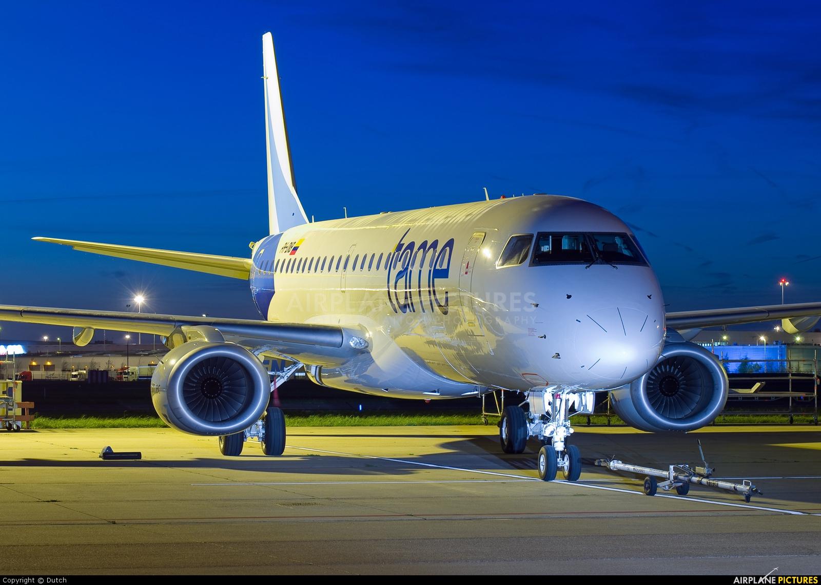 TAME PH-DNB aircraft at Amsterdam - Schiphol