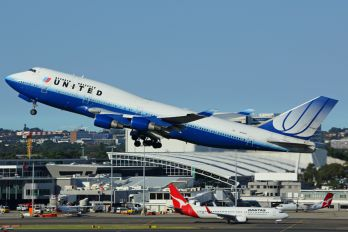 N179UA - United Airlines Boeing 747-400
