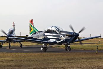 2018 - South Africa - Air Force: Silver Falcons Pilatus PC-7 I & II