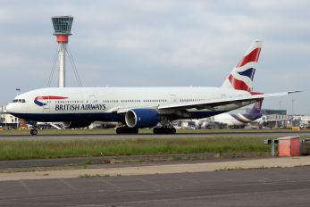 G-YMMA - British Airways Boeing 777-200