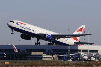 G-BZHA - British Airways Boeing 767-300