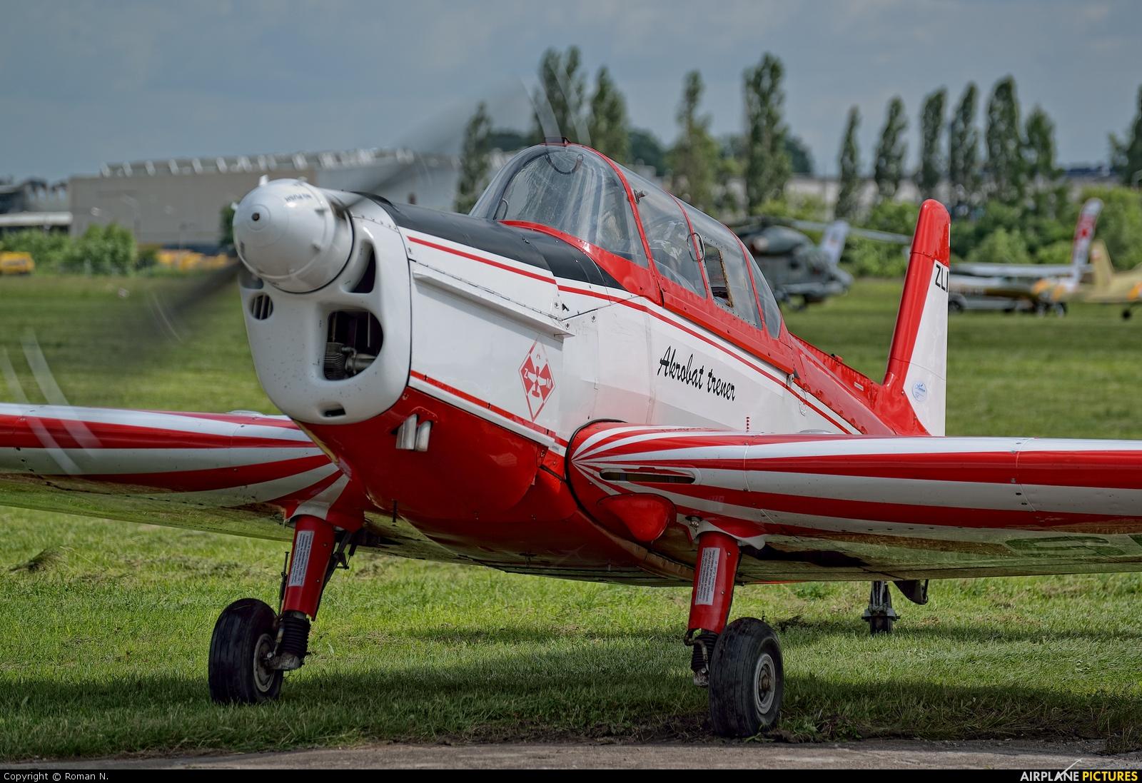 Aeroklub Ziemi Mazowieckiej SP-CTB aircraft at Płock