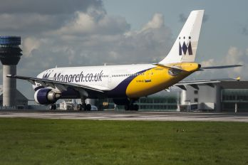 G-MAJS - Monarch Airlines Airbus A300