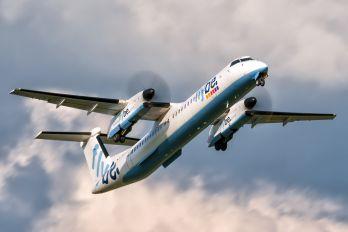 G-ECOM - Flybe de Havilland Canada DHC-8-400Q / Bombardier Q400