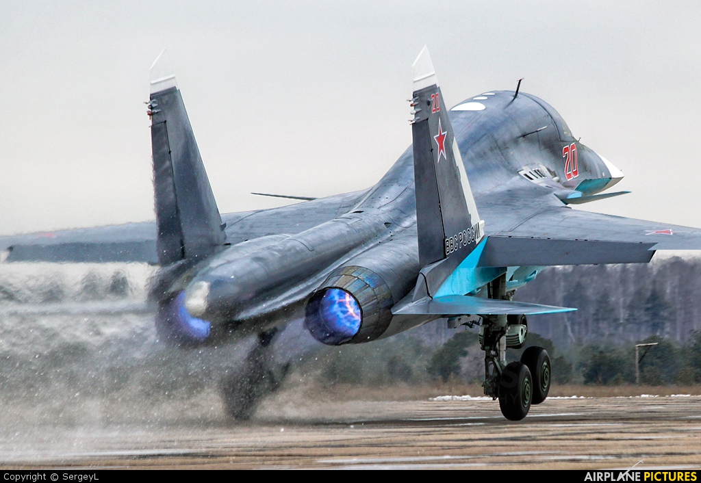 Russia - Air Force 20 aircraft at Undisclosed Location