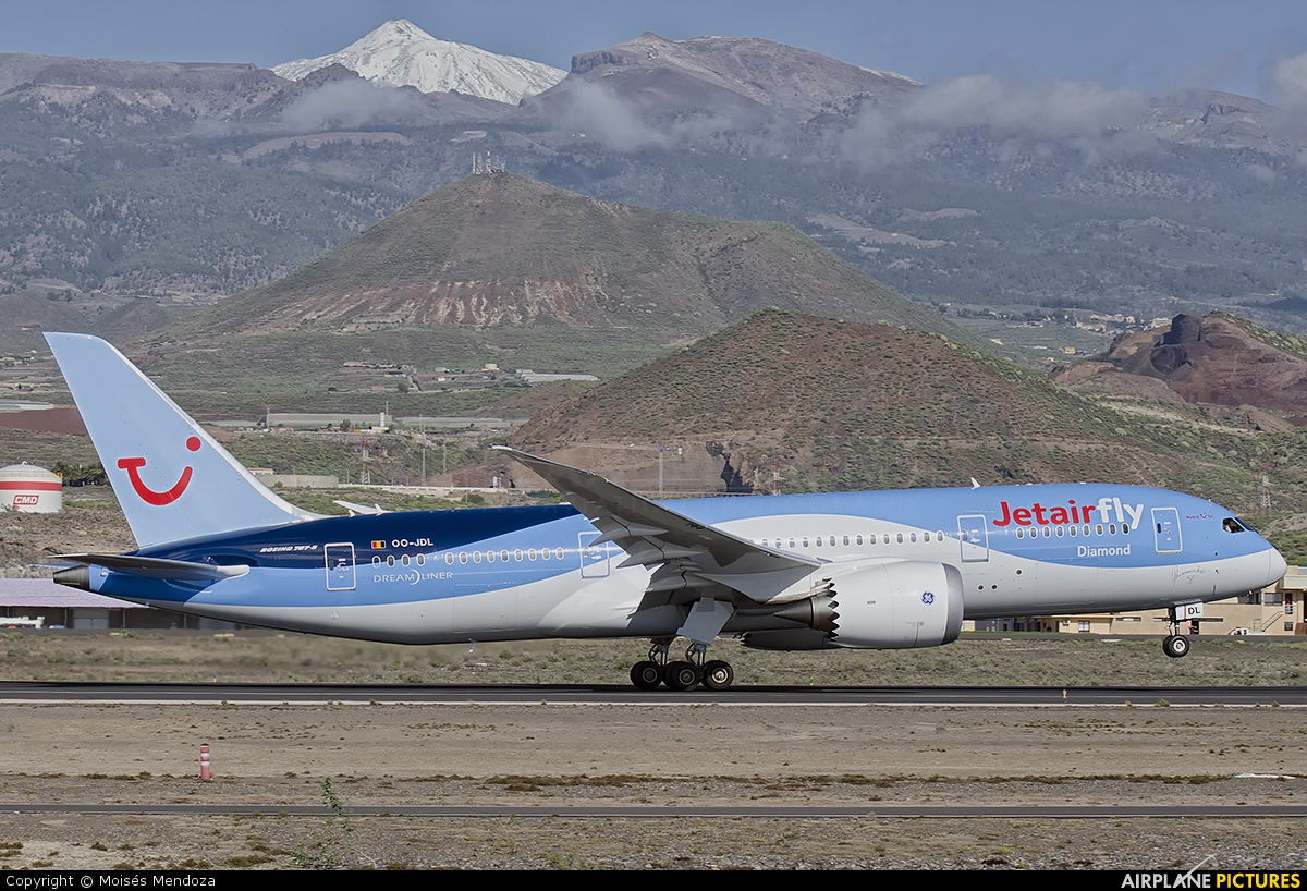 Jetairfly (TUI Airlines Belgium) OO-JDL aircraft at Tenerife Sur - Reina Sofia