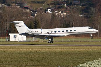 HB-IMJ - Private Gulfstream Aerospace G-V, G-V-SP, G500, G550