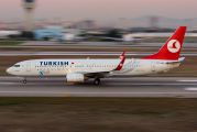 TC-JHA - Turkish Airlines Boeing 737-800 aircraft