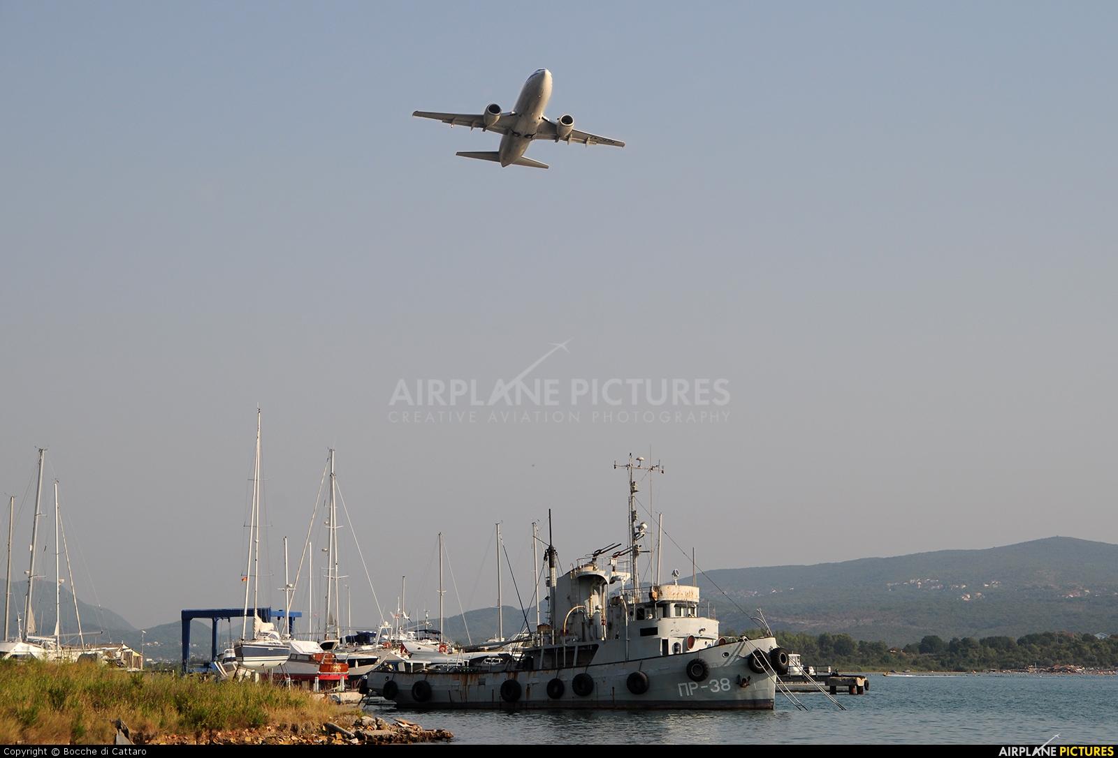 Belavia EW-283PA aircraft at Tivat
