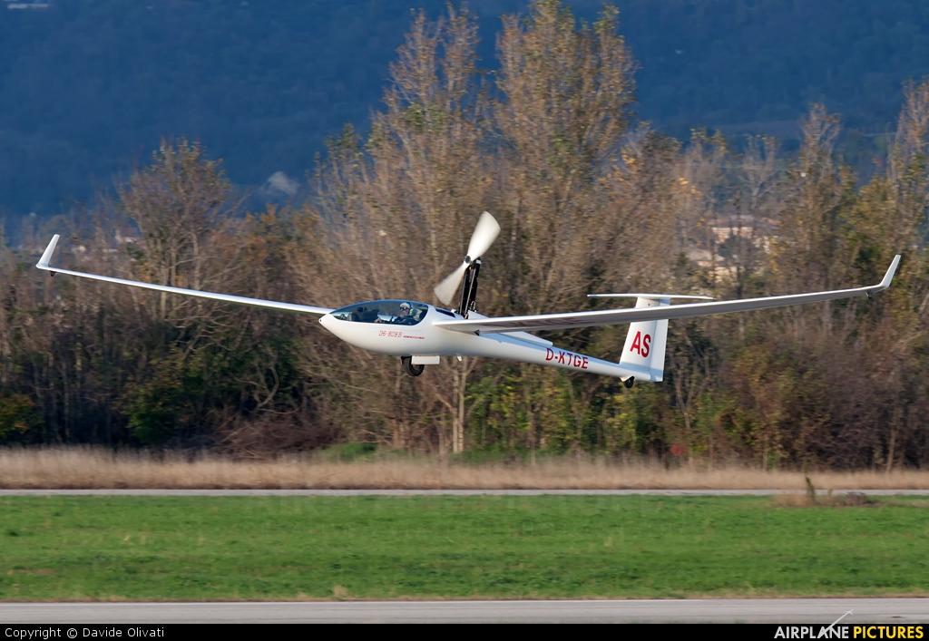 Private D-KTGE aircraft at Verona - Boscomantico
