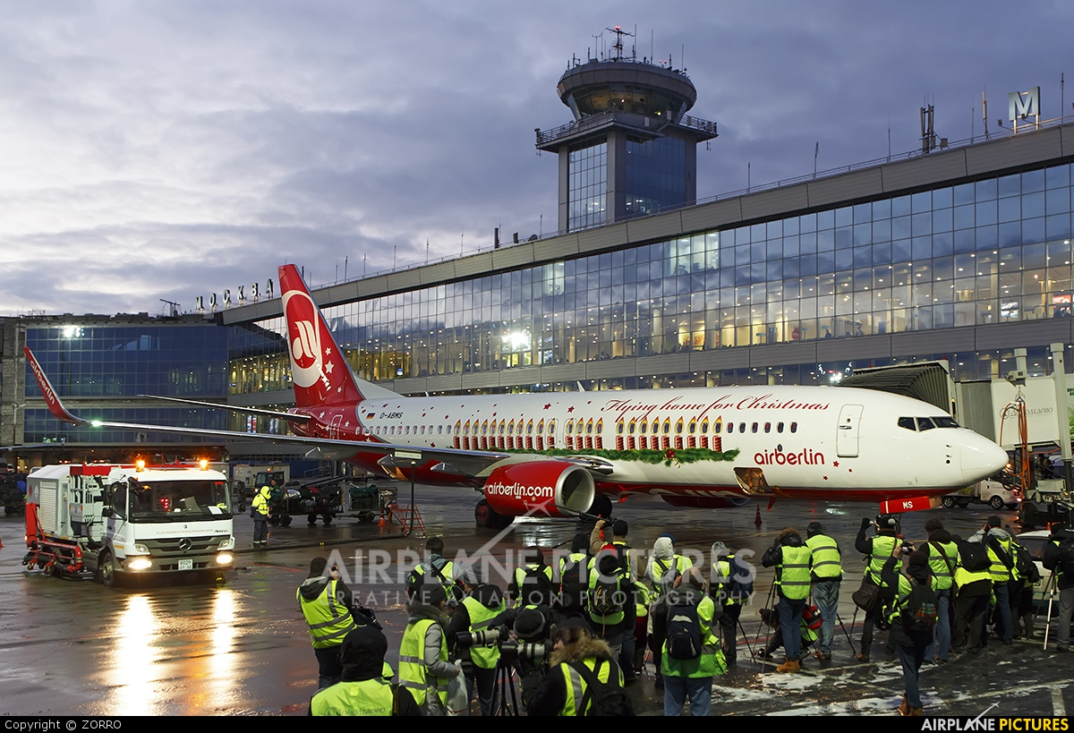 Air Berlin D-ABMS aircraft at Moscow - Domodedovo