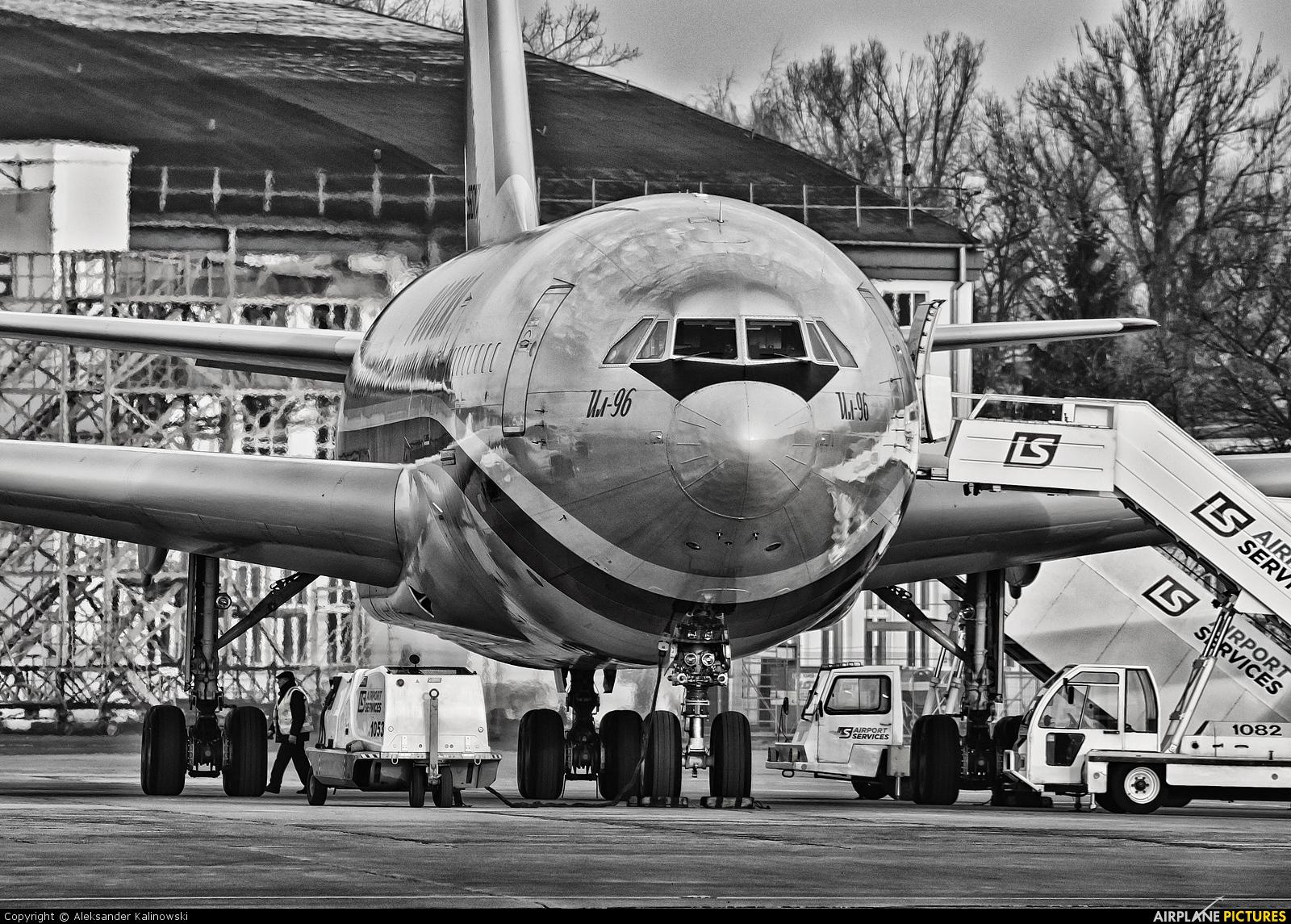 Rossiya RA-96017 aircraft at Warsaw - Frederic Chopin