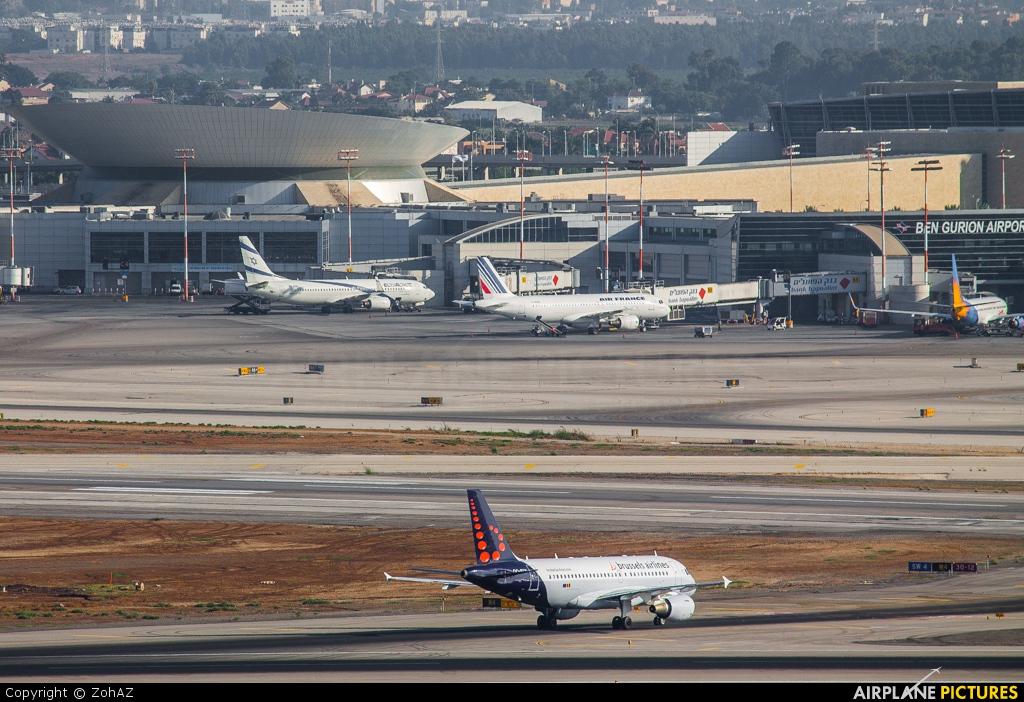 - Airport Overview - aircraft at Tel Aviv - Ben Gurion