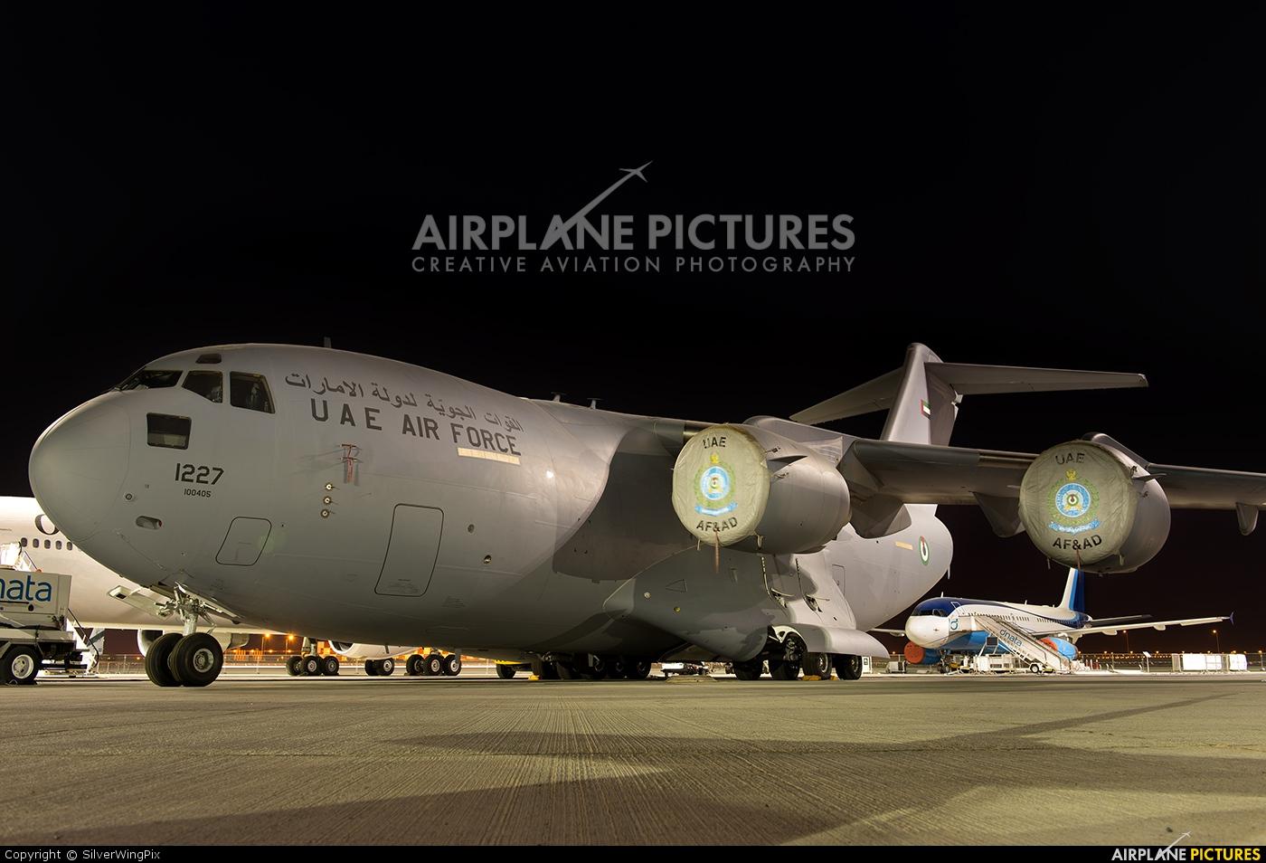 United Arab Emirates - Air Force 1227 aircraft at Jebel Ali Al Maktoum Intl