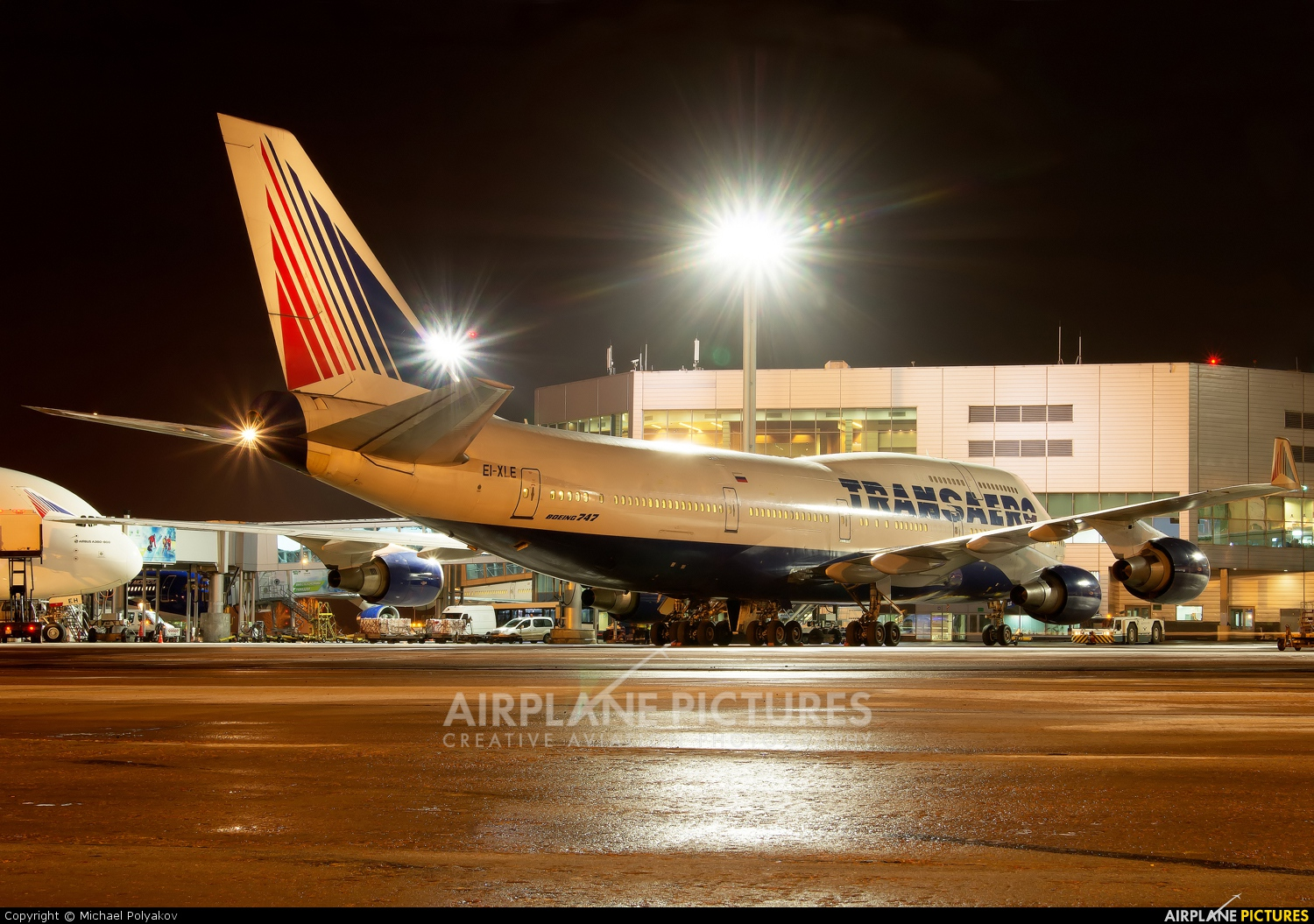 Transaero Airlines EI-XLE aircraft at Moscow - Domodedovo