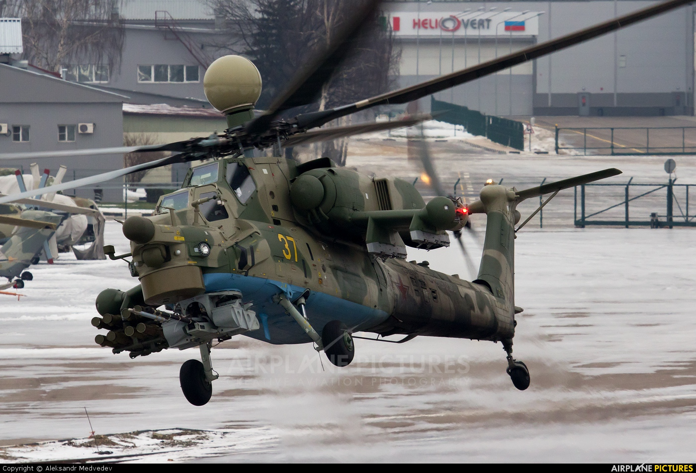 Russia - Air Force 37 aircraft at Off Airport - Russia