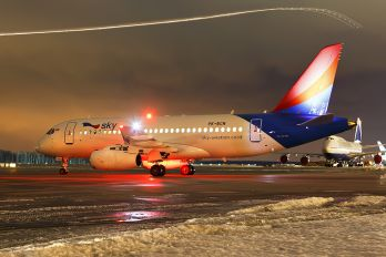 PK-ECN - Sky Aviation Sukhoi Superjet 100