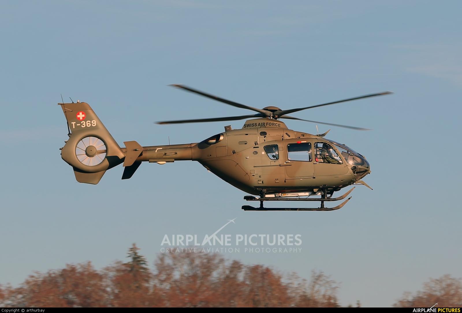 Switzerland - Air Force T-369 aircraft at Bern - Belp