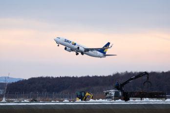 JA73NK - Skymark Airlines Boeing 737-800
