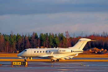 OE-HAB - Avcon Jet Bombardier BD-100 Challenger 300 series