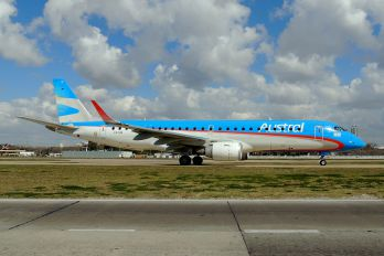 LV-CIG - Austral Lineas Aereas Embraer ERJ-190 (190-100)