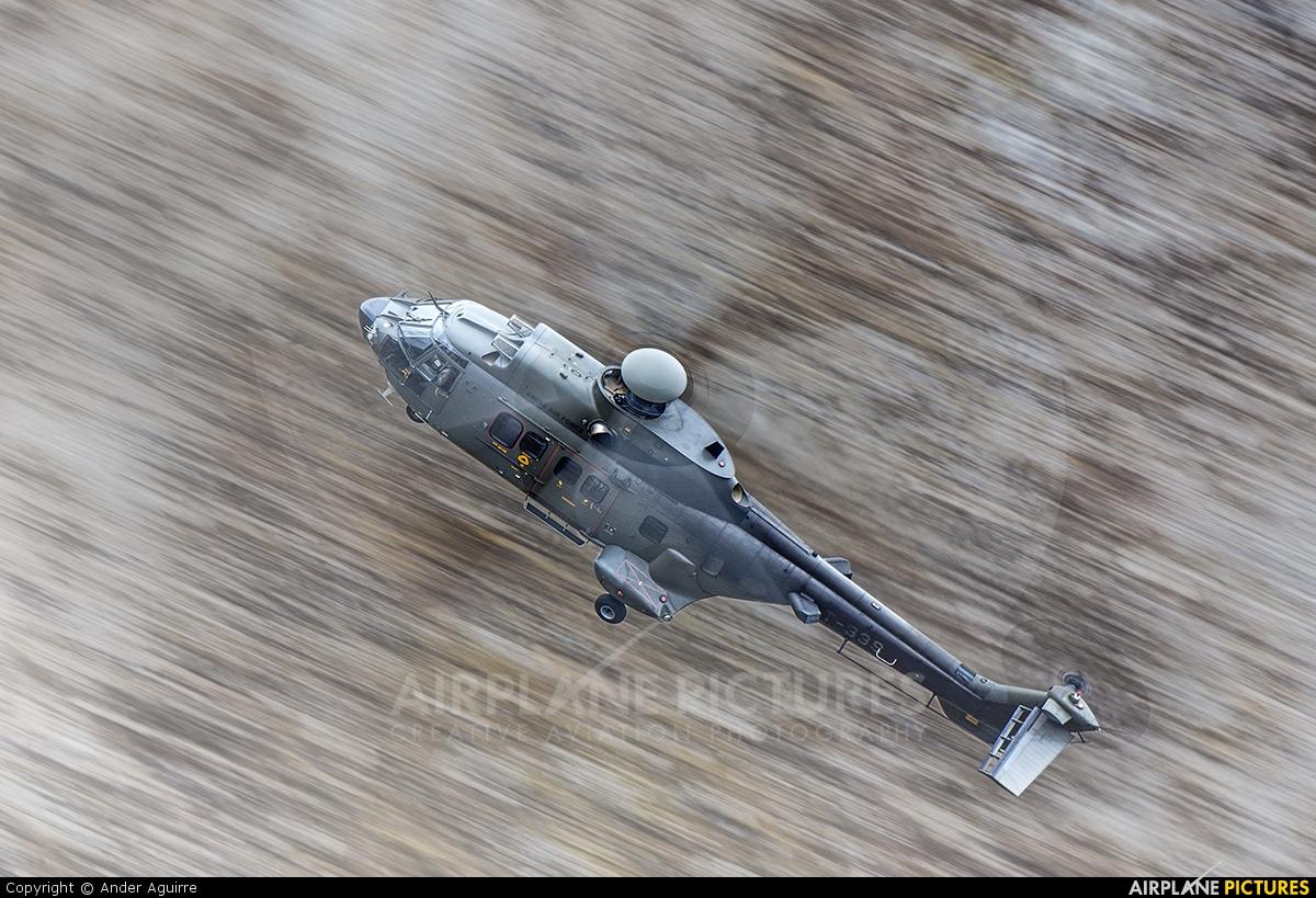 Switzerland - Air Force T-339 aircraft at Axalp - Ebenfluh Range