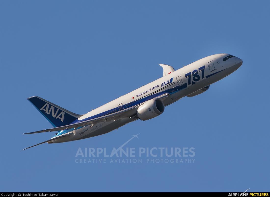 ANA - All Nippon Airways JA811A aircraft at Tokyo - Haneda Intl