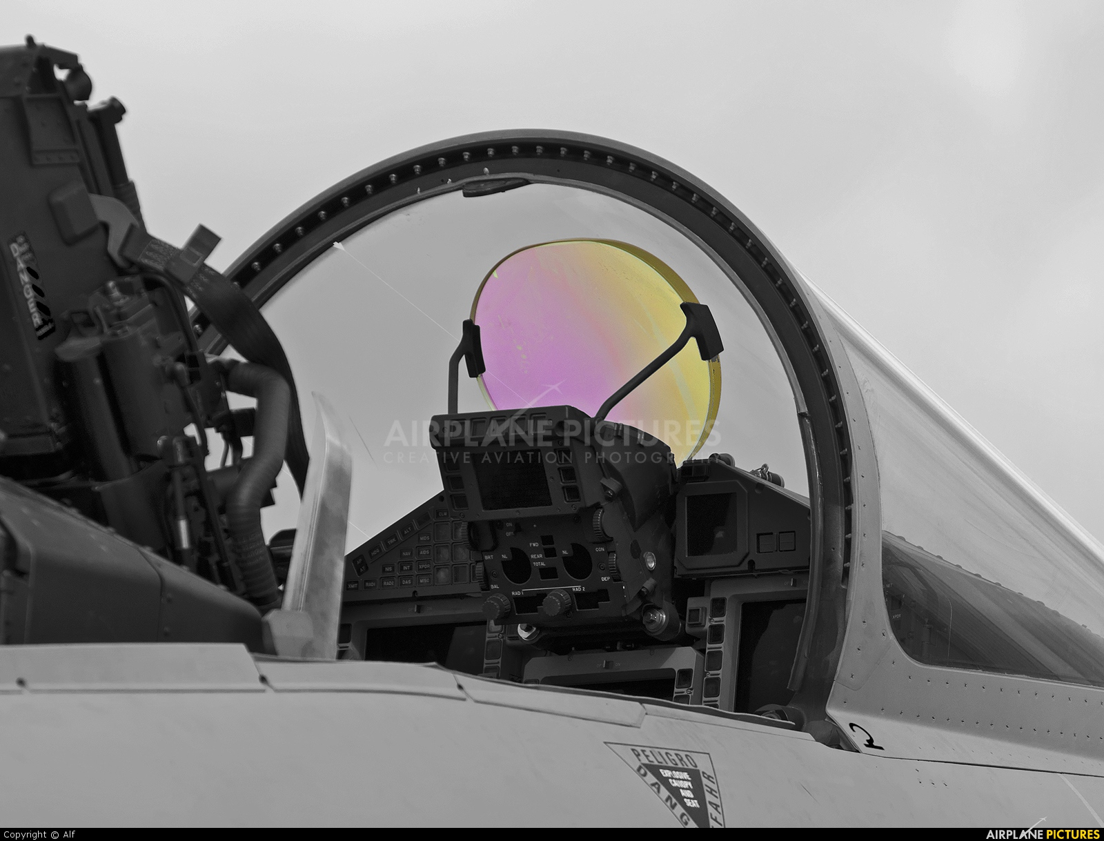 CE 16-10000 - Spain - Air Force Eurofighter Typhoon T at