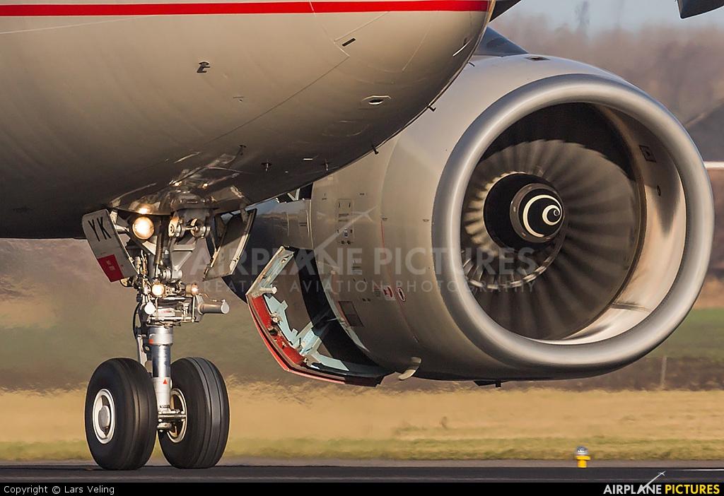Etihad Airways A6-EYK aircraft at Amsterdam - Schiphol
