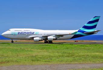 EC-KQC - Pullmantur Air Boeing 747-400