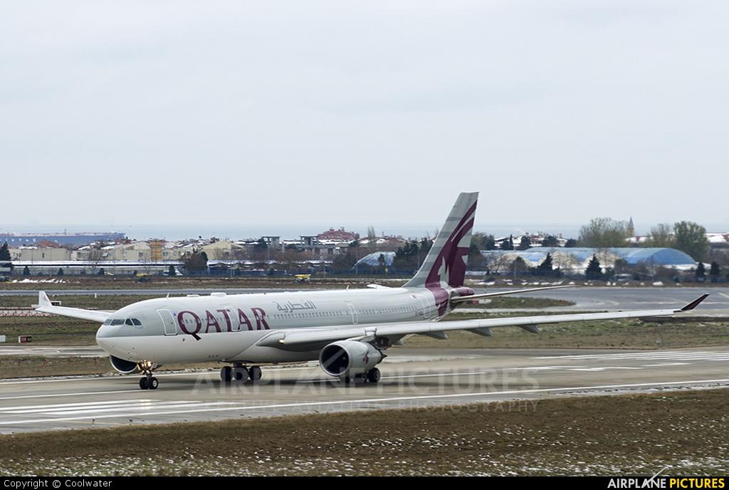 Qatar Airways A7-ACG aircraft at Istanbul - Ataturk