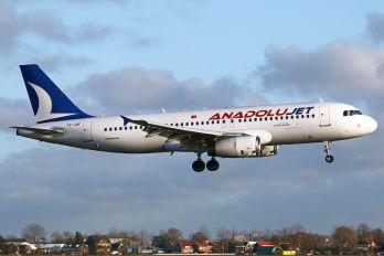 TC-JUF - AnadoluJet Airbus A320