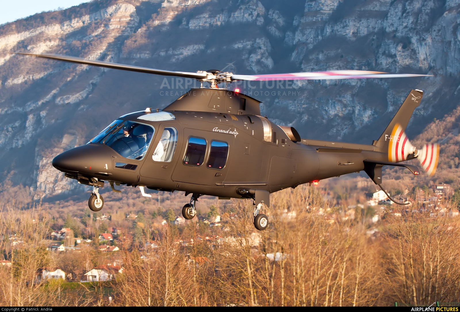 Skycam Helicopters F-HIDE aircraft at Off Airport - France