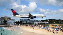 N614DL - Delta Air Lines Boeing 757-200 aircraft